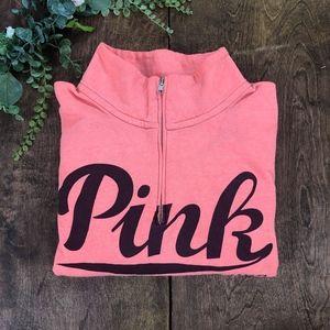 ✨SALE✨ ⬇️ $40 PINK VS 1/4 Zip Sweatshirt